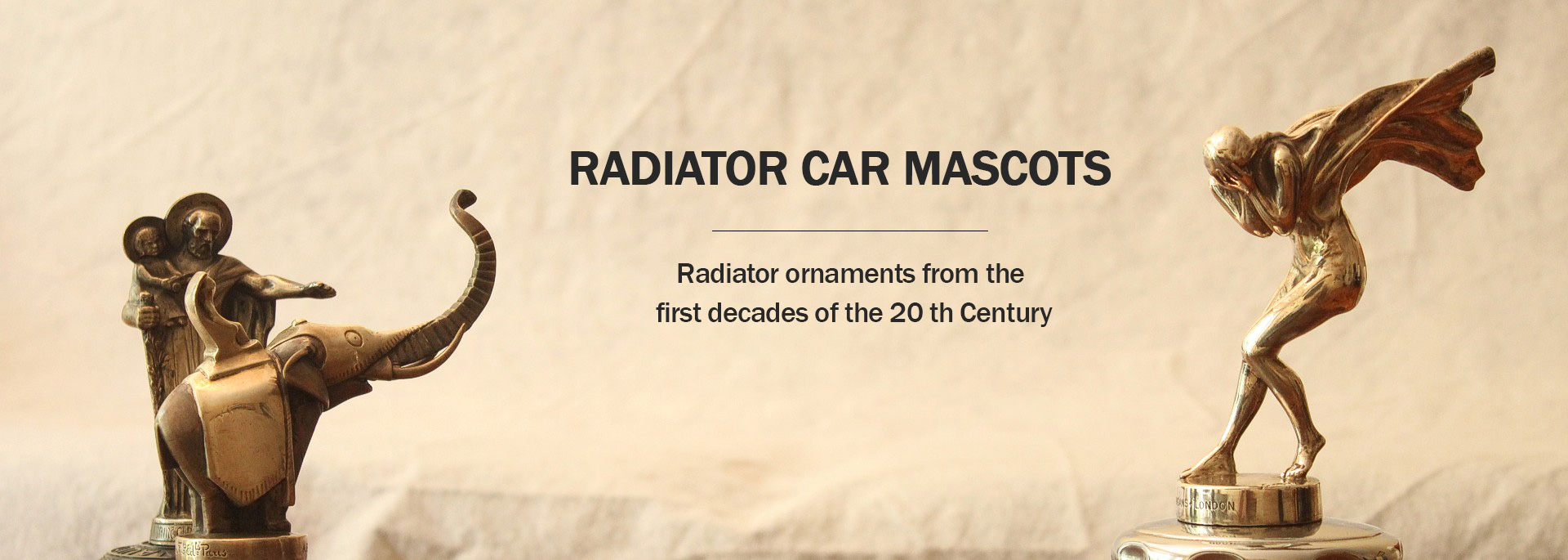 Radiator Car Mascots