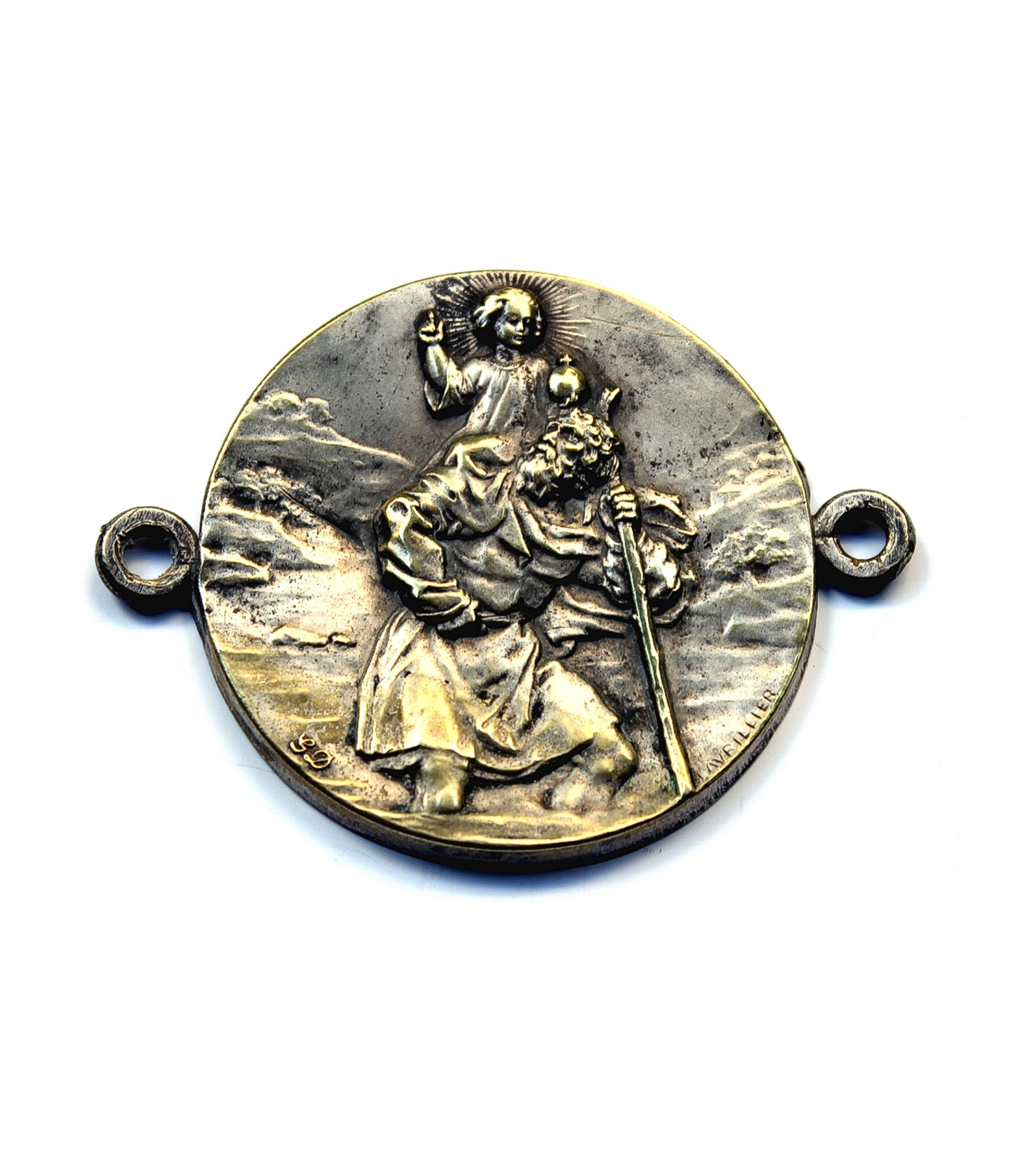 Lavrillier St.Christopher badge