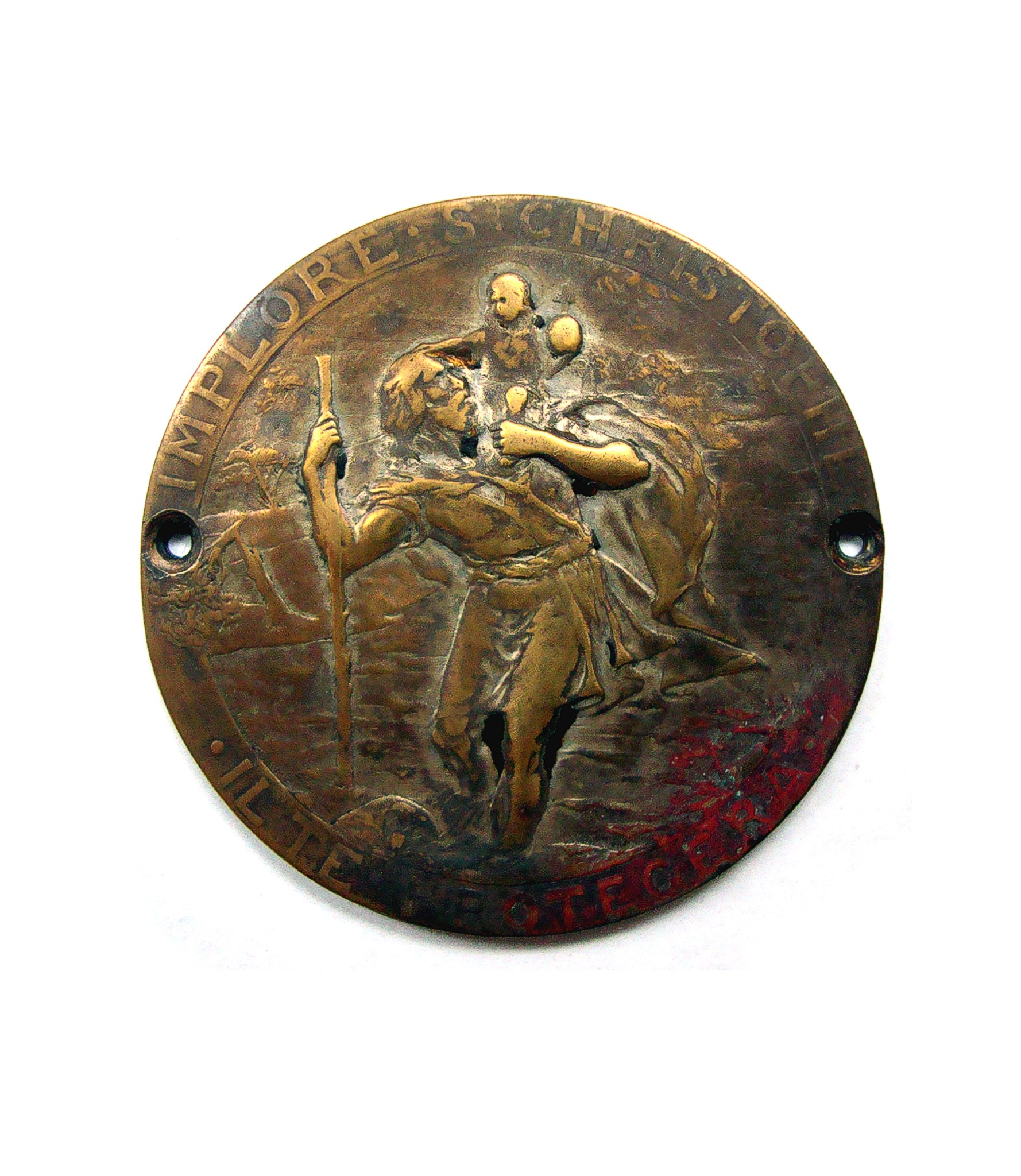 Rare Saint Christophe dashbaord badge by Prud´Homme for sale